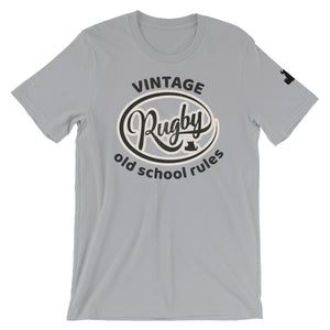 Beasties Vintage Rugby Old School Rules T shirt - Beasties Clothing