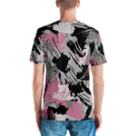 Beasties Urban pink and grey camouflage T-shirt