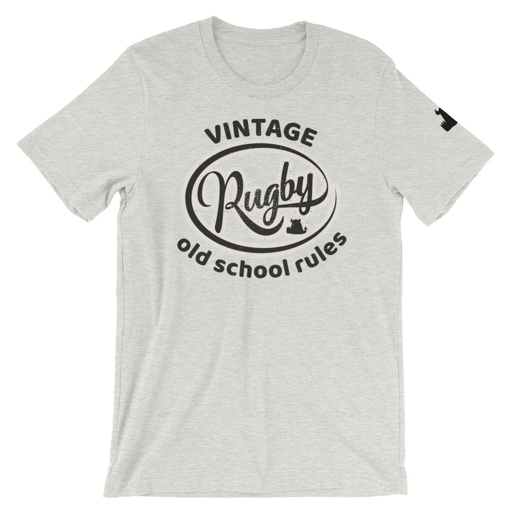 Beasties © • Limited edition • Vintage Rugby Old School Rules T shirt • Old Men - Beasties Clothing