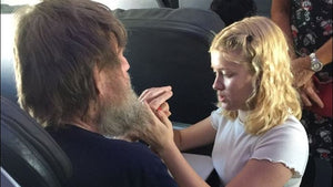 Uplift 03: Teen Angel Signs To Deaf Blind Man on Plane