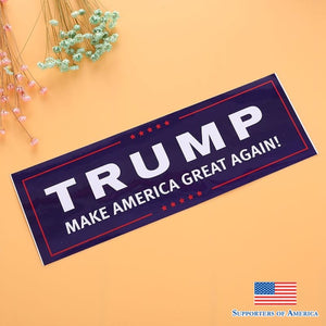 10Pcs Donald Trump For President Make America Great Again Bumper Sticker