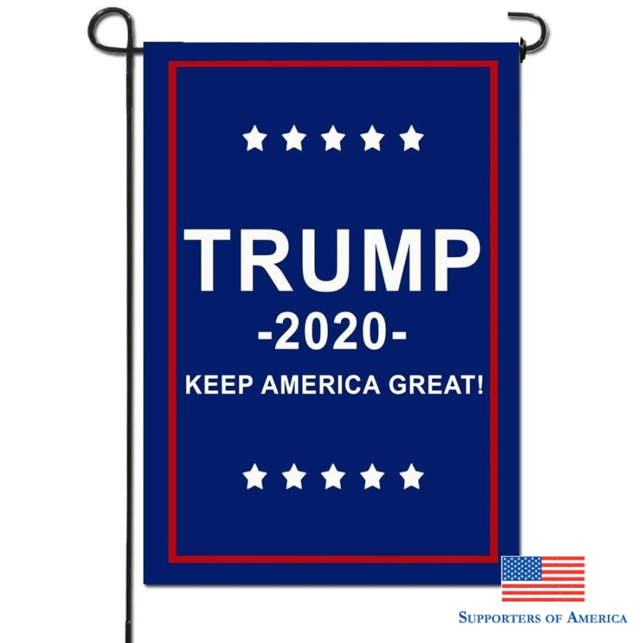 18X12 Trump Flag 2020 Garden Flag For President Make America Great Again Outdoor Decoration