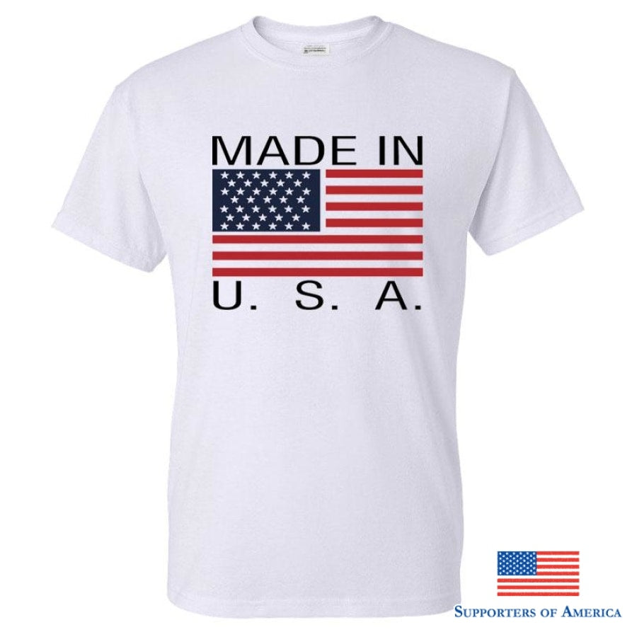 USA T-Shirt White