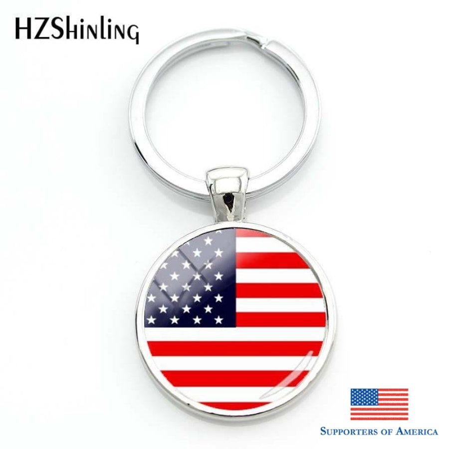 FREE AMERICAN FLAG KEYCHAIN – Supporters of America 0798df22a5