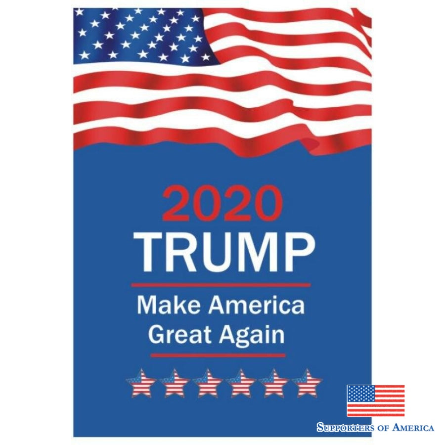 2020 Trump Flag Donald Keep America Great For President Usa 45*30Cm B / United States