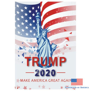 2020 Trump Flag Donald Keep America Great For President Usa 45*30Cm E / United States