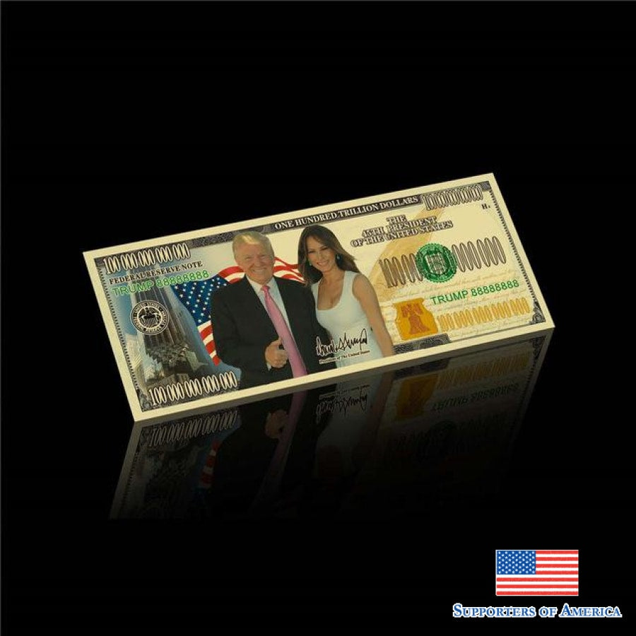 Donald Trump And The First Lady Dollar