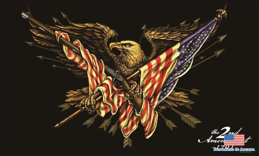 2A Eagle right to bear flag