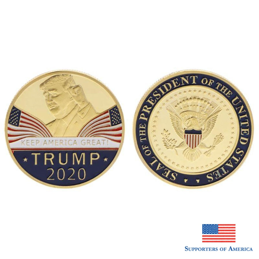 Free Trump 2020 Speech Coin Novelties
