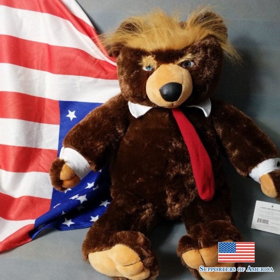 Donald trump collectible teddy bear