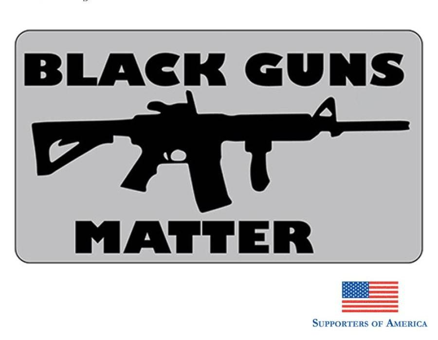 Earlfamily 13Cm X 7.3Cm Black Guns Matter All Protect The 2Nd Amendment Medium Stickers And Decals