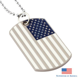 White Flag Dogtags