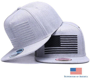 [Hatlander] Raised Flag Embroidery Cool Flat Bill Baseball Cap Mens Gorras Snapbacks 3D Hat Ourdoor
