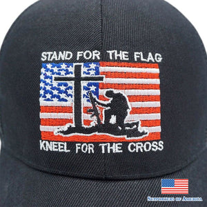 High Quality Usa Flag Cross Mesh Baseball Cap Men Women Embroidery Letter Soldier Snapback Dad Hat