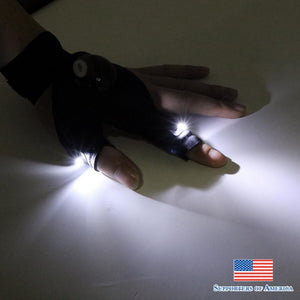 Flashlight Glove