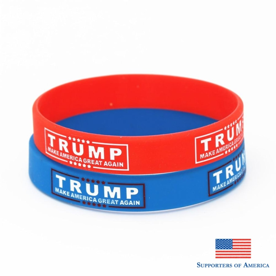 Trump Make America Great Again Wristbands Jewelry