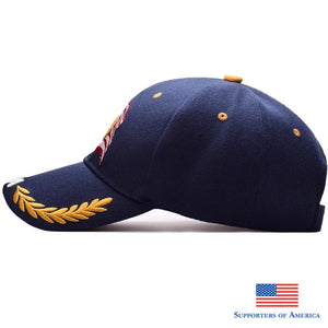 New Men Eagle Baseball Cap American Flag Embroidery Snapback Dad Hat Bone Male Summer Casual Letter