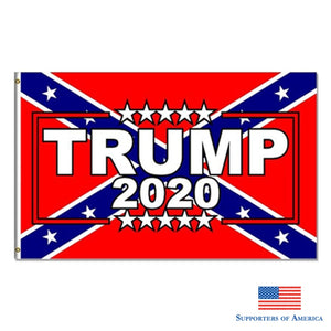 Trump 2020 Flag 150X90 Cm 100D Polyester Banner Keep America Great For President Usa Free Shipping