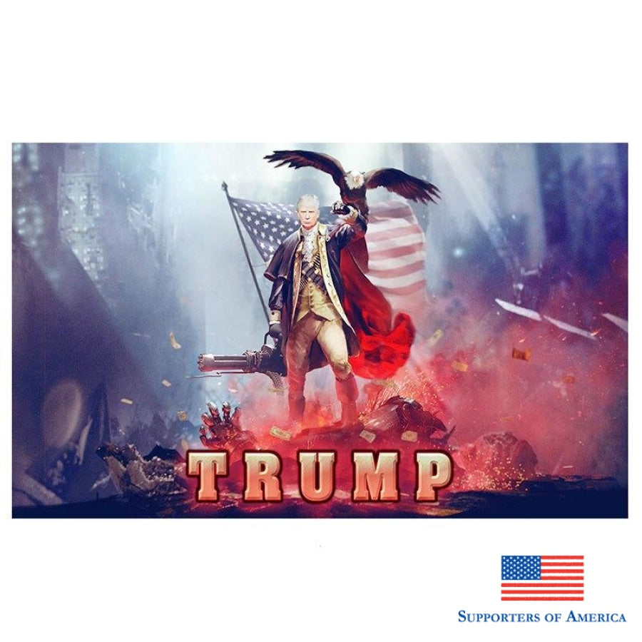 Trump 2020 Flags And Banners 5X3 Feet Keep America Great Donald Election Banner Flag