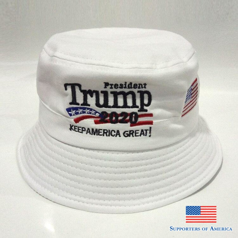 Adult Trump 2020 Fisherman Hat Bucket Summer Hats Men Women Hip Hop Cap American President Election