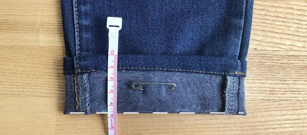 Sewing Basics: How to Hem Jeans | BuyMeOnce.com