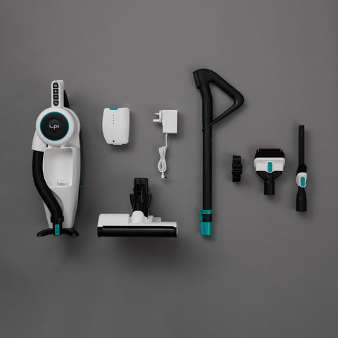 Lupe Pure Cordless vacuum cleaner disassembled