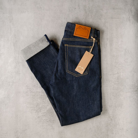 Blackhorse Lane Ateliers N5 high rise raw denim women's jeans