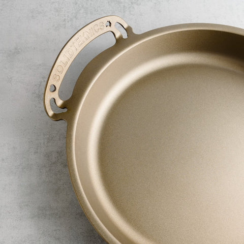 35cm Seamless Iron All-In-One Pan Solidteknics