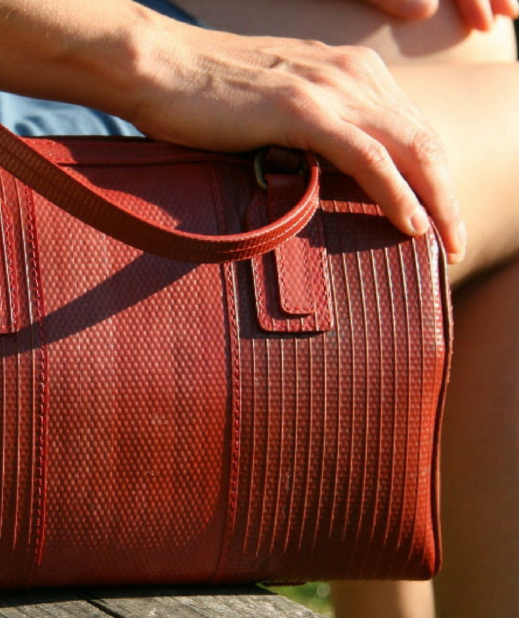 Discover sustainable luxury with Elvis & Kresse|Buymeonce.com