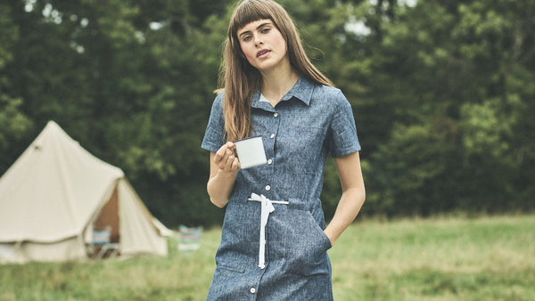 Denim Utility Dress
