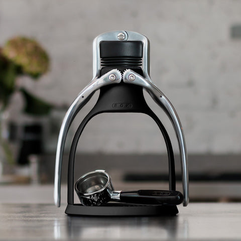 Manual Espresso Maker, Black