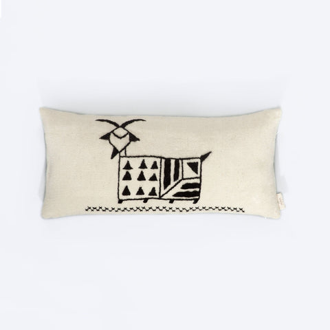 Regional Cushion Cover, Goat