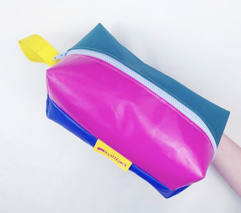 Reclaimed Bouncy Castle Box Wash Bag