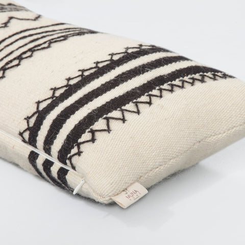 Black and White Cushion Cover, Alternanza - BuyMeOnce Direct - BuyMeOnce UK