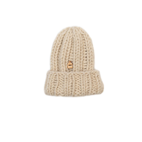 Babies' Woolly Hat, Natural White
