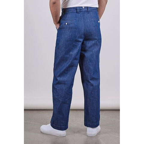 SW1 Relaxed Trousers, Blue 11oz Italian Denim - BuyMeOnce Direct - BuyMeOnce UK