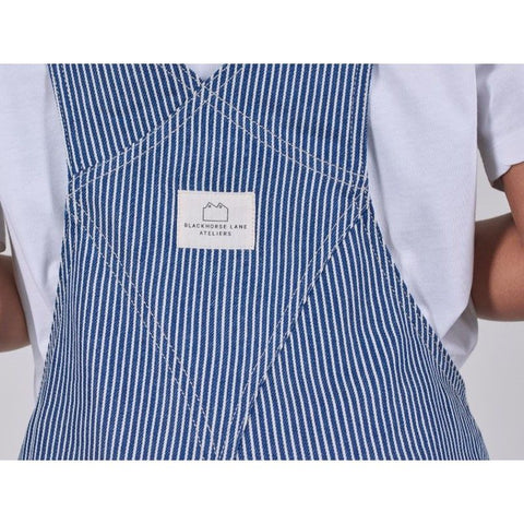 SW7 Dungarees, Hickory Striped Denim - BuyMeOnce Direct - BuyMeOnce UK