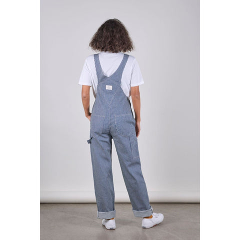 SW7 Unisex Dungarees, Hickory Striped Denim - BuyMeOnce Direct - BuyMeOnce UK
