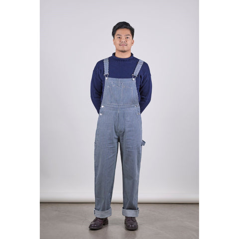 SW7 Dungarees, Hickory Striped Denim