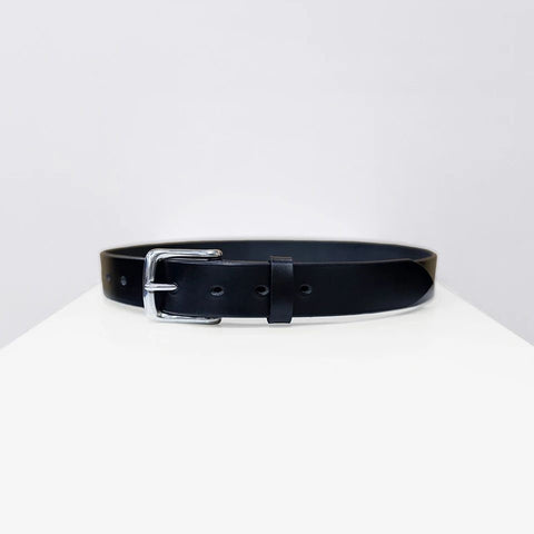 Bridle Leather Belt, Black - BuyMeOnce Direct - BuyMeOnce UK