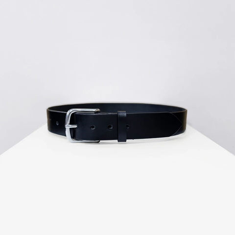 Bridle Leather Belt, Black