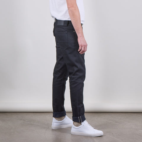E8 Slim Tapered Jean, 14oz Italian Black Raw Selvedge - BuyMeOnce Direct - BuyMeOnce UK