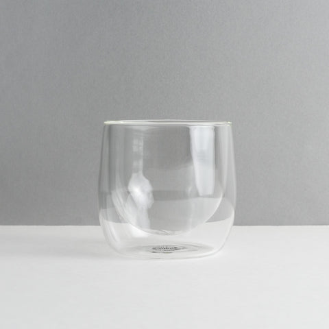 Double Walled Glass Tumbler, Set of 2