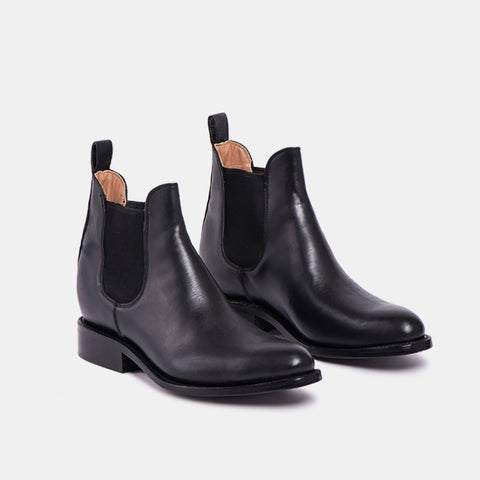 Manuel Men's Chelsea Boot, Black