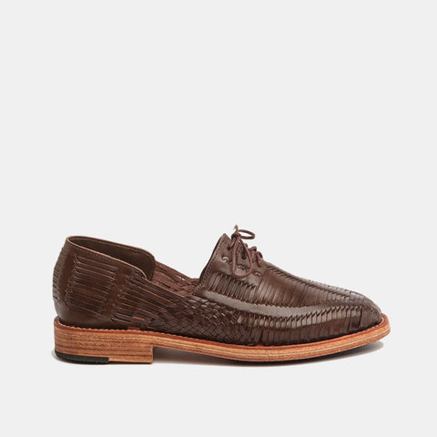 Benito Men's Shoes, Coffee
