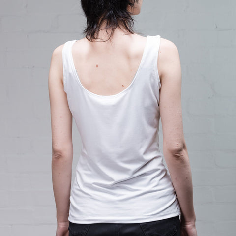 Organic Bamboo Vest, White - BuyMeOnce Direct - BuyMeOnce UK