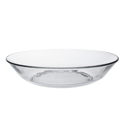 Duralex Lys Clear Glass Calotte Plate, 20.8cm, Set of 6 | BuyMeOnce UK