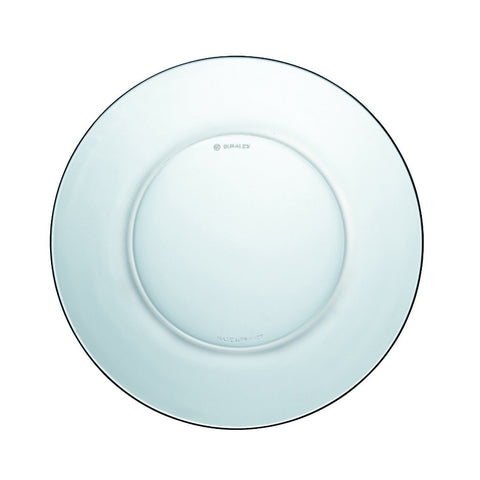 Duralex Lys DX Clear Glass Dessert Plate, 19cm, Set of 6 | BuyMeOnce UK
