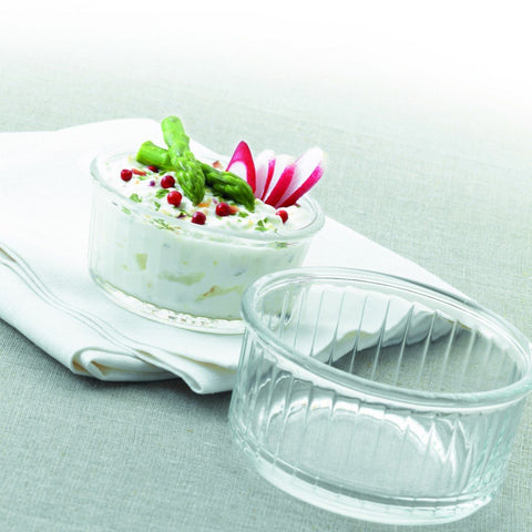 Ovenchef Clear Glass Ramekin, 10cm, Set of 4 - BuyMeOnce Direct - BuyMeOnce UK