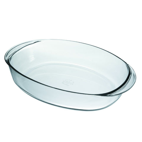 Ovenchef Oval Clear Glass Roaster